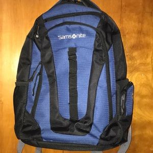 Unisex samsonite multi pocket backpack